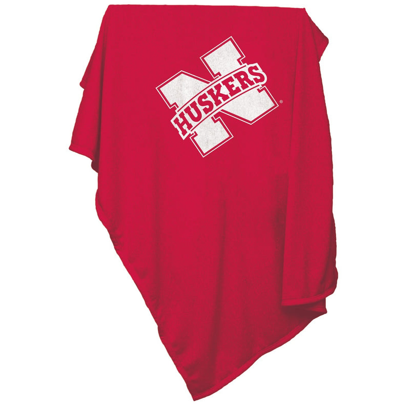 University of Nebraska Sweatshirt Blanket