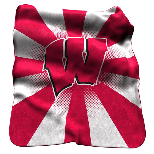 University of Wisconsin Raschel Blanket