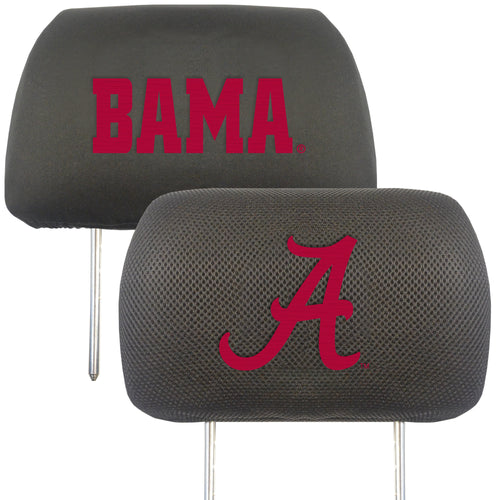 University of Alabama Head Rest Cover (Set of 2)