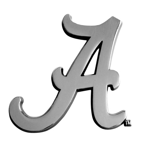 University of Alabama Chrome Car Emblem