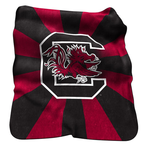 University of South Carolina Raschel Blanket