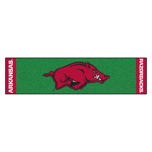 University of Arkansas Putting Green Runner