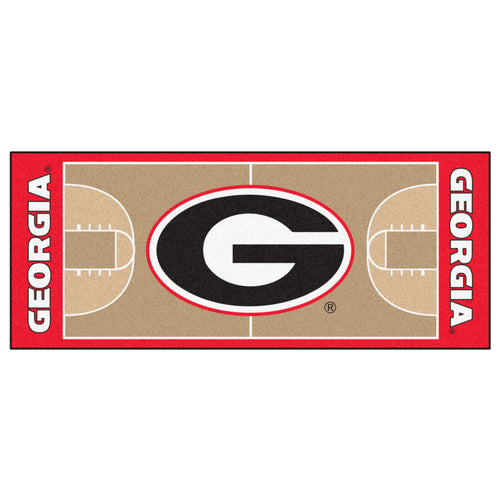 University of Georgia Basketball Court Runner