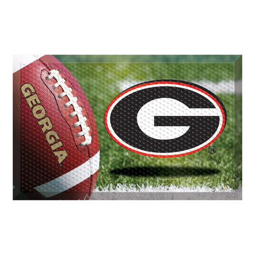 University of Georgia Football Scraper Door Mat