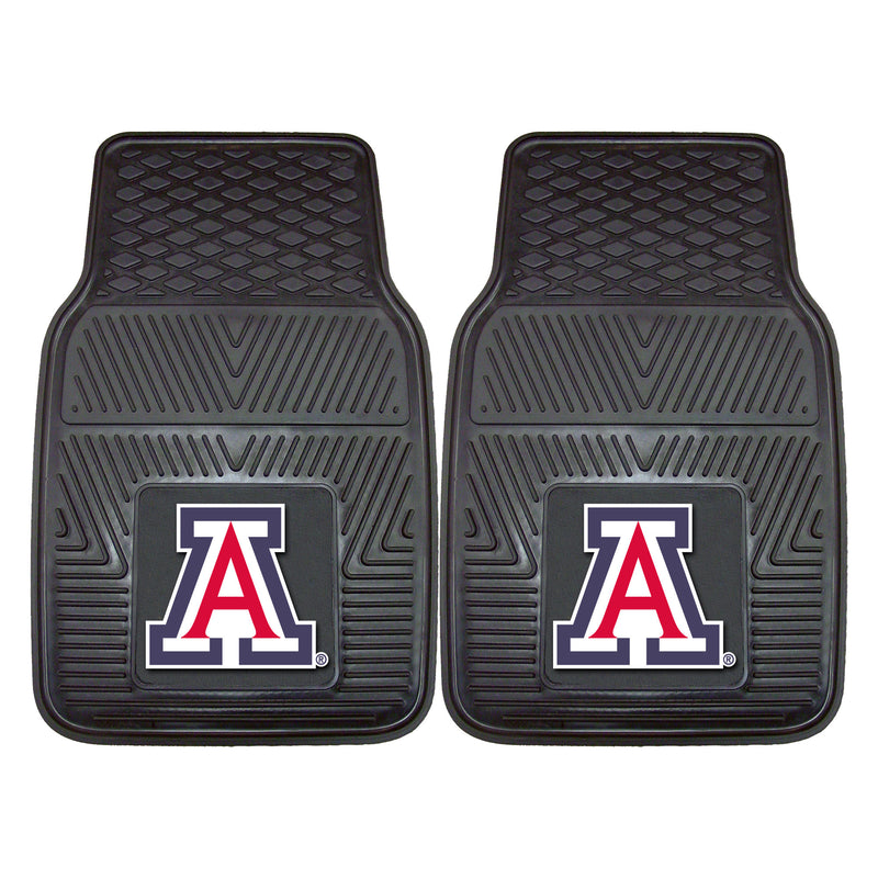 University of Arizona Heavy Duty Vinyl Car Mats (Set of 2)