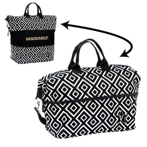 Vanderbilt University Expandable Double Diamond Tote