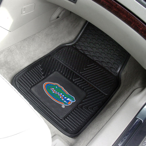 University of Florida Gators Heavy Duty Vinyl Car Floor Mats (Set of 2)