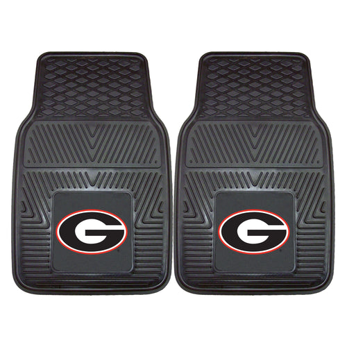 University of Georgia Heavy Duty Vinyl Car Floor Mats (Set of 2)