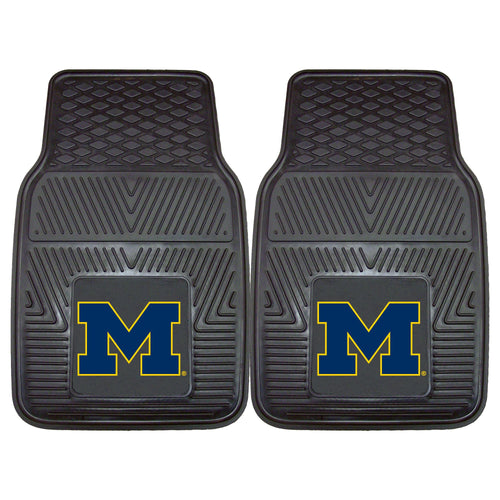 University of Michigan Heavy Duty Vinyl Car Floor Mats (Set of 2)