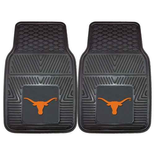 University of Texas Heavy Duty Vinyl Car Mats (Set of 2)