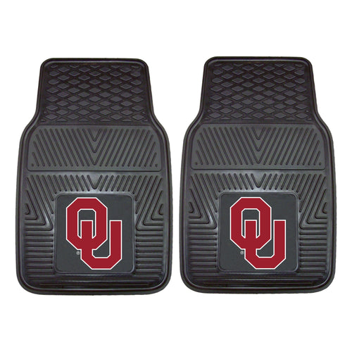 University of Oklahoma Heavy Duty Vinyl Car Floor Mats (Set of 2)