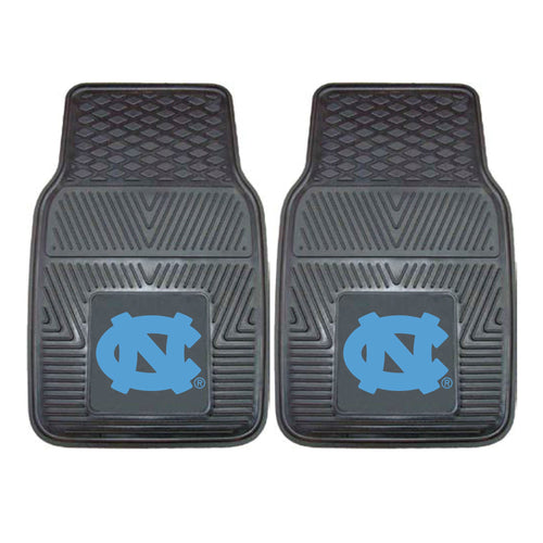 University of North Carolina Heavy Duty Vinyl Car Floor Mats (Set of 2)