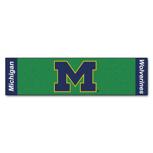 University of Michigan Putting Green Runner