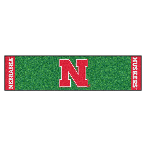 University of Nebraska Putting Green Runner