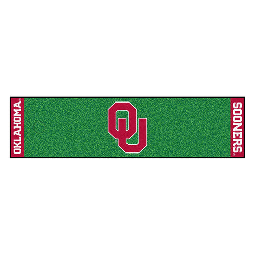 University of Oklahoma Putting Green Runner