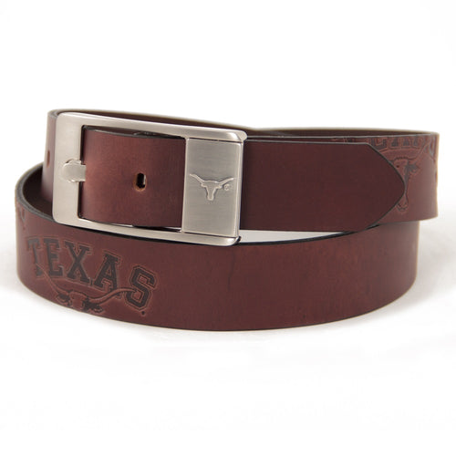 University of Texas Brandish Leather Belt