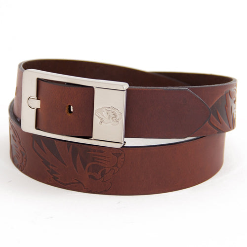 University of Missouri Brandish Leather Belt