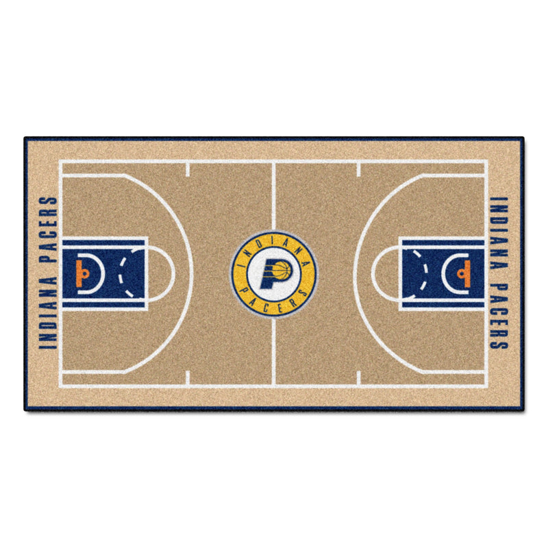 Indiana Pacers Basketball Court Runner