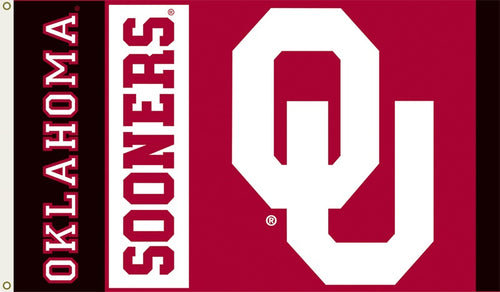 University of Oklahoma Sooners Logo Flag