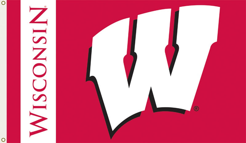 University of Wisconsin Logo Flag