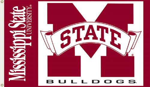 Mississippi State University Logo Flag