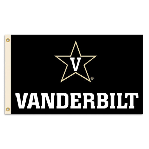 Vanderbilt University Star Logo Flag