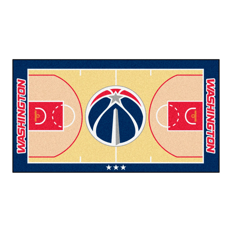 Washington Wizards Basketball Court Runner