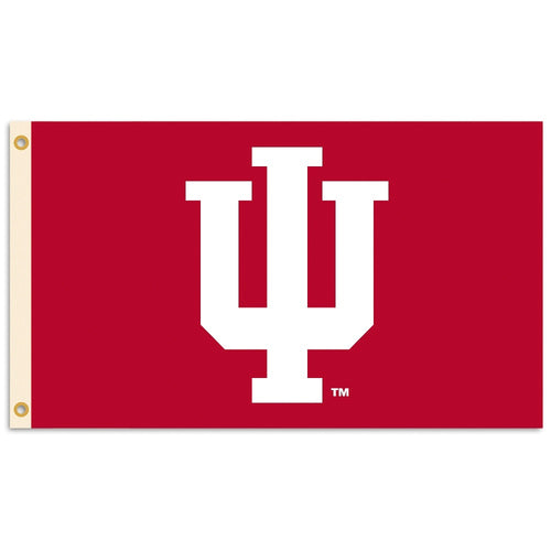 Indiana University Logo Flag