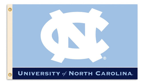 University of North Carolina Interlock Logo Flag