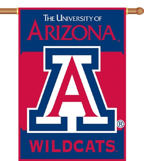 University of Arizona Wildcats 2-Sided House Flag/Banner