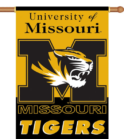 University of Missouri Tigers 2-Sided House Flag/Banner