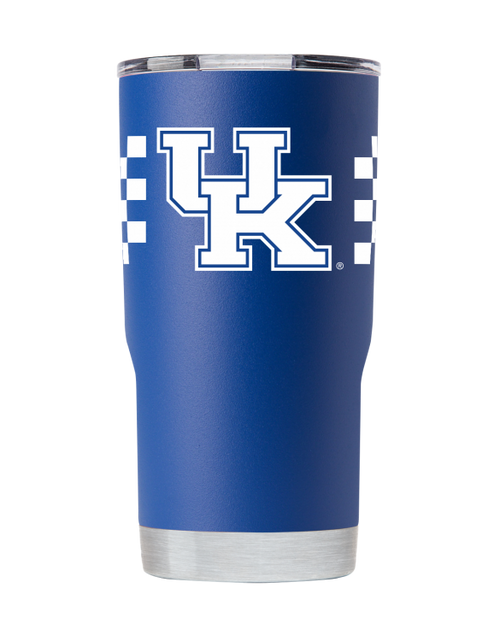 University of Kentucky 20 Ounce Checkerboard Tumbler