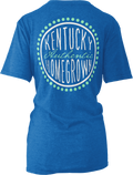Univeristy of Kentucky Ladies Curly Sue Short Sleeve Melange Tee