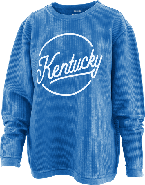 Kentucky Women's Roxy Script Corded Crew Neck Tee