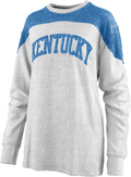Kentucky Ladies Ivy Long Sleeve Crew Neck Pullover