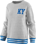Kentucky Ladies Santa Rosa Mock Neck Comfy Terry