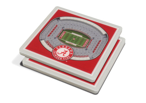 University of Alabama 3D Bryant-Denny Stadium Coasters (2-Pack)
