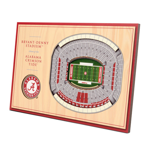University of Alabama 3D Desktop StadiumView - Bryant-Denny Stadium