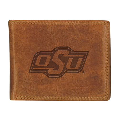 Oklahoma State University Westbridge Leather Wallet