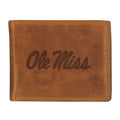 University of Mississippi Westbridge Leather Wallet