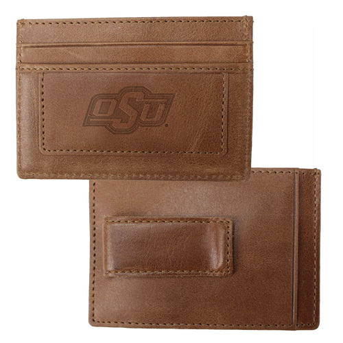 Oklahoma State University Credit Card Holder & Money Clip