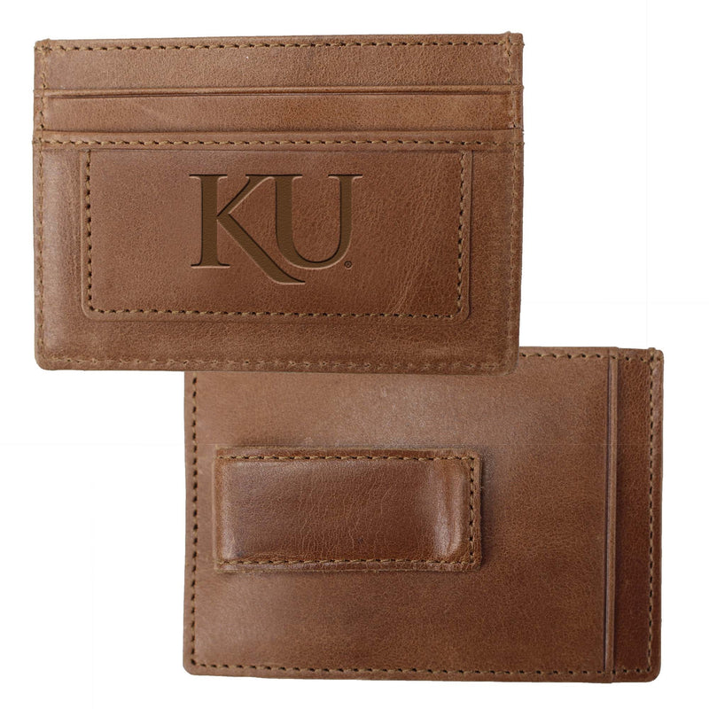 University of Kansas Credit Card Holder & Money Clip