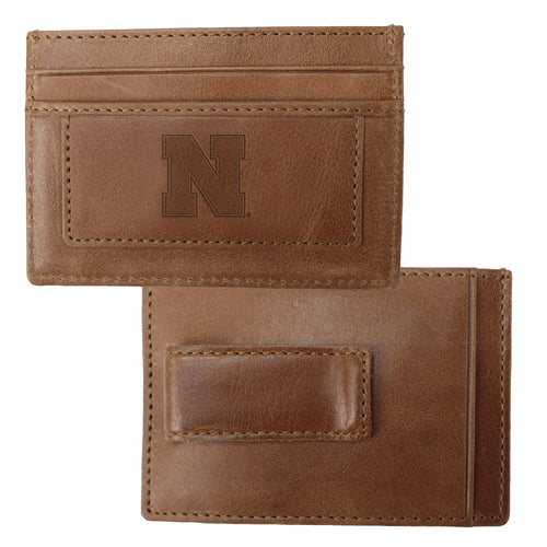 University of Nebraska Credit Card Holder & Money Clip