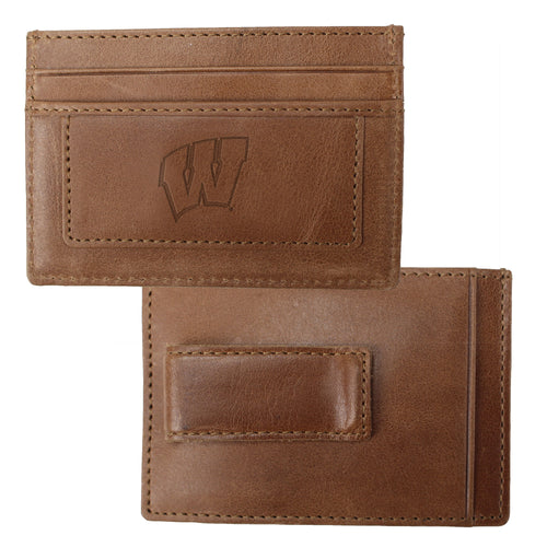 University of Wisconsin Credit Card Holder & Money Clip