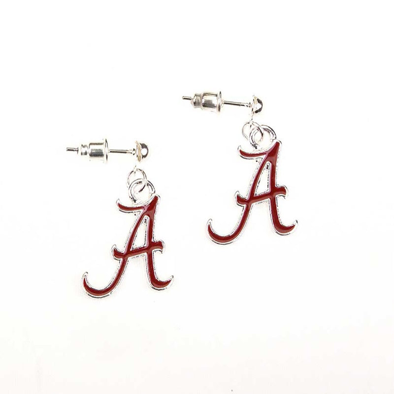 University of Alabama Enamel Logo Earrings