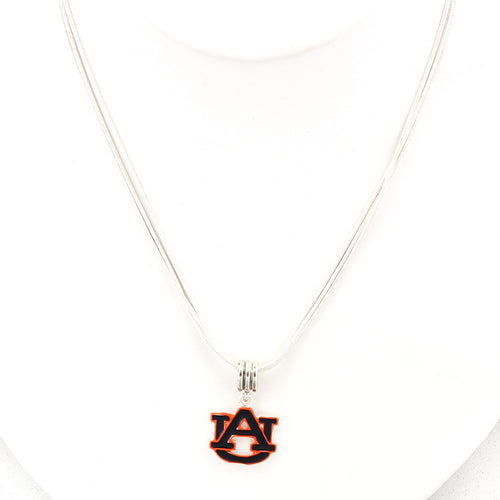 Auburn University Enamel Logo Necklace