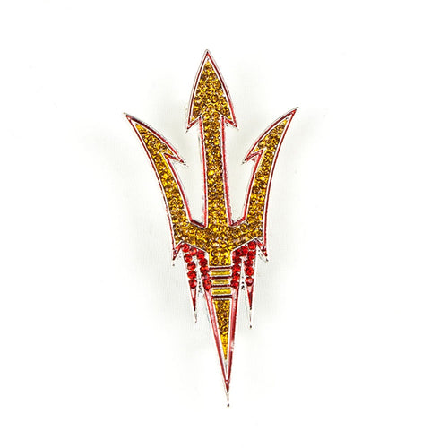 Arizona State University Crystal Pin
