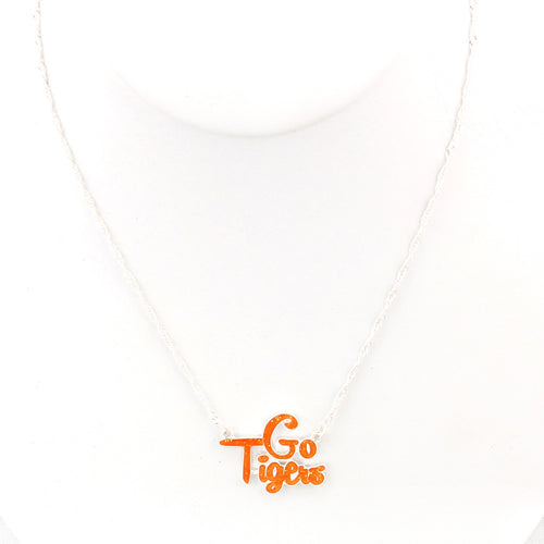 Clemson University Slogan Necklace