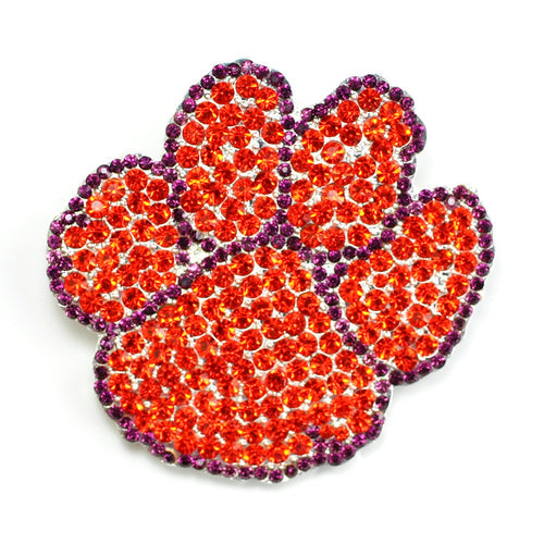 Clemson University Crystal Pin