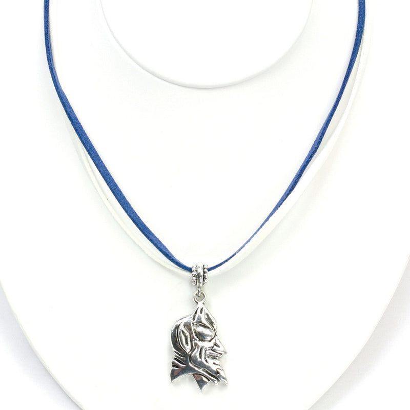 Duke University Double Suede Cord Necklace